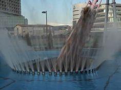 Carrinho entra em túnel subaquático (Foto: Reprodução/Youtube/antinbath)