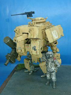 Robots Drawing, Sci Fi Rpg, Lego Mecha, Model Tanks, Hobby Toys, Dieselpunk, Scale Models, Cyberpunk, Diorama