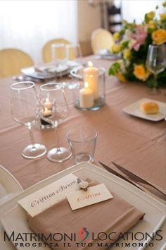 Segnaposto Matrimonio Wedding Planner.Mise En Place Matrimonio Mise En Place Mariage