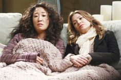 "Em ""grey's anatomy"", cristina (sandra oh) Cristina Yang, Meredith E Cristina, Meredith And Christina, Sandra Oh, Meredith Grey, Derek Shepherd, One Punch Man, Gq, Izzie Stevens"