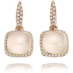 Astley Clarke Couture Bianca Earrings ($6,485) ❤ liked on Polyvore