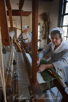 Weaver's at the Taliaferro-Cole Shop, Williamsburg, VA, Photo by David M. Doody I have one of those!!!