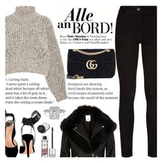 """""""Untitled #2823"""" by anarita11 ❤ liked on Polyvore featuring Isabel Marant, Paige Denim, River Island and Gucci"""