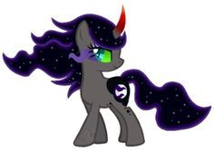mlp king sombra x luna | nightshine More