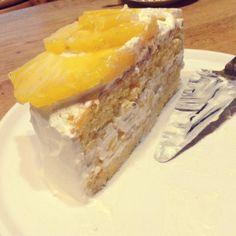 夏っぽくておいしーーー♡ - 8件のもぐもぐ - パイナップルショートケーキ by りほ
