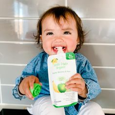 Boosting your little one's development can be as simple as teaching them to hold their own food. @everly.ventures has got it going on 🌟 #LittleÉtoileOrganic #HappyHealthyBright Little Star, Little Ones, Cute Babies, Teaching, Stars, Children, Simple, Baby, Food
