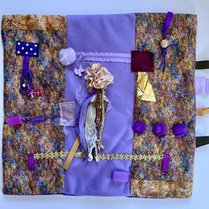 Excited to share this item from my #etsy shop: JEWEL TONE Touch Quilt, Fidget Blanket for Alzheimer's, Dementia by Restless Remedy Dementia Care, Alzheimer's And Dementia, Saving Coins, Alzheimer's Symptoms, Fidget Blankets, Fidget Quilt, Custom Quilts, Alzheimers, Jewel Tones