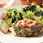 Baked Pesto Chicken... quick and easy