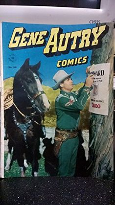 1946 Gene Autry Dell Western Comic #100 by Dell Pu http://www.amazon.com/dp/B00RB206PE/ref=cm_sw_r_pi_dp_sToOub1E867EW