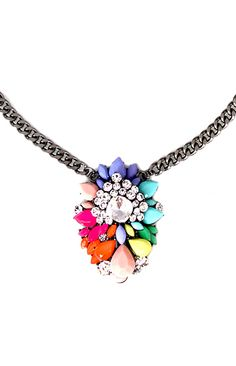 Candy Cluster Necklace