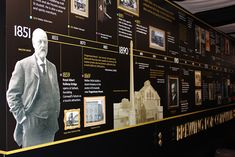 We are certainly proud of our 160 year history and at the Visitors Centre you can read about the landmark events thanks to our timeline display