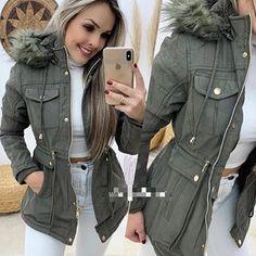 Compre Mulheres Jaqueta De Inverno Gola De Pele Falso Das Mulheres Casacos Longo Para Baixo Parka Lady Hoodies Parkas Mais Quentes Clássicas Jaquetas