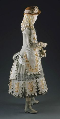 Girl's Dress 1883 The Philadelphia Museum of Art |Pinned from PinTo for iPad|