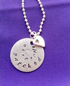 Perfectly Patched CHD Awareness Necklace