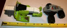 RARE LEGOS Yubi Racers Snow Mobile Off Road Green Vehicle Car Lot Space Figure  #LEGO