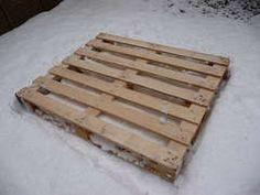 Wawerko | Holzschlitten zum rodeln aus Palette selber bauen - Anleitung
