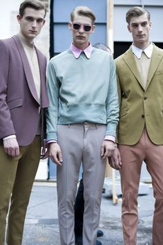 Acne Menswear Spring/Summer 2012 - For more like this follow us or visit our website and do not forget to repin!   #Acne, #fashion, #hespiration, #homme, #look, #lookbook, #male, #male model, #mensfashion, #mensstyle, #menswear, #model, #ootd, #ootdmen, #spring, #spring-summer, #style, #suit, #summer, #uomo,