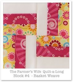 Farmer's Wife Quilt-a-Long - Block 4 | Flickr - Photo Sharing!