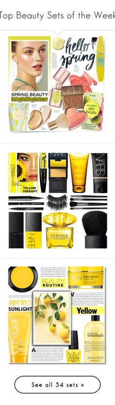 """Top Beauty Sets of the Week"" by polyvore ❤ liked on Polyvore featuring beauty, See by Chloé, Maybelline, Benefit, Burberry, AERIN, tarte, H&M, Hourglass Cosmetics and L'Oréal Paris"