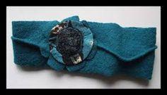 """Résultat de recherche d'images pour """"bandeau cheveux laine feutrée"""""""