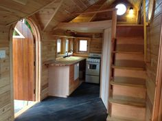 pinafore tiny house on wheels by zyl vardos photo super unique craftsmanship love the stairs and closet