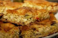 Μια υπέροχη αλμυρή πίτα με κοτόπουλο και πράσο