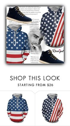 """""""men"""" by fatimka-becirovic ❤ liked on Polyvore featuring men's fashion, menswear, hoodie and men"""