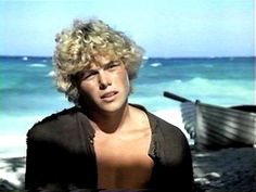 Christopher Atkins Blue Lagoon...for real. Wrong decade, buddy.