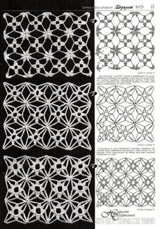 crochet flower pattern... #crochet_inspiration GB