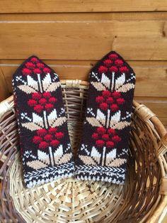 Mittens, Knitted Hats, Winter Hats, Fair Isles, Socks, Knitting, Fashion, Knits, Gloves