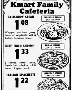I can remember going to ours in Carol Stream, Illinois. It was a treat. My Mom & sister always loved the Chicken & Dumplings Vintage Menu, Vintage Ads, Vintage Recipes, Vintage Restaurant, Menu Restaurant, Old Advertisements, Advertising Signs, Childhood Memories, 1970s Childhood