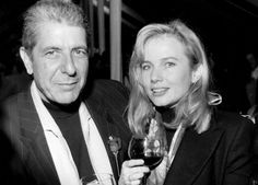 """cohenyearsphotos: """" """" In 1992, with Rebecca De Mornay """" From """"Leonard Cohen – Cine-i poetul de la microfon?"""", VIVA Magazine, October 14, 2009. Heads up kindly provided by Heck of a Guy. """""""
