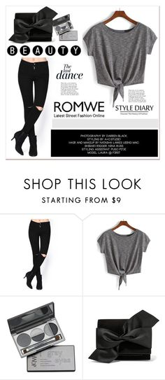 """""""Romwe 3"""" by black-fashion83 ❤ liked on Polyvore featuring DuWop, Victoria Beckham, Anja, women's clothing, women, female, woman, misses and juniors"""