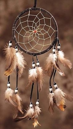 Ideas for handmade - Dream catcher with their own hands (18 pictures) + Process of making. More ideas: http://wonderdump.com/ideas-for-handmade-dream-catcher-with-their-own-hands-18-pictures-process-of-making/