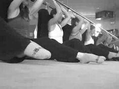 The Bar Method: Ballet Bar Sculpting Exercises for Core Strengthening
