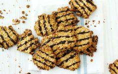Kokoscookies med chokoladetop - når du vil undgå sukker!!!