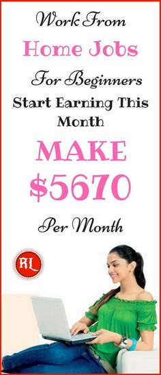 Legit work-from-home job that pays well. Find out all about how you could work from home and earn passive income from home. The best method to make money online. Learn how to make $5670 per month. Click the pin to see how >>>