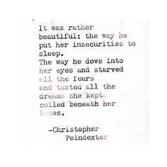 Christopher Poindexter... Love this!