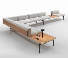 Waiting area benches | Lounge area-Waiting room | H-Sofa. Check it out on Architonic