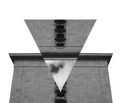 Inverse trinagle facade