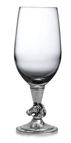 Arte Italica Cavallo $110.00 Water/Wine Glass