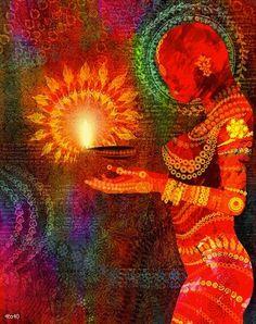 Med·i·ta·tion Temp·ta·tion- Inner, outer peace through yoga, food, and meditation. Namaste, Reiki, Image Yoga, Psy Art, Festival Lights, Divine Feminine, Sacred Feminine, Light Art, Lamp Light