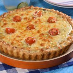 Quiche de Atún con Pasta Hojaldre Fácil
