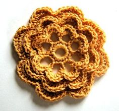 Irish rose or Frost Flower (2 names for this motif) scroll 1/2 way down page; includes leaf and base mesh shawl patterns