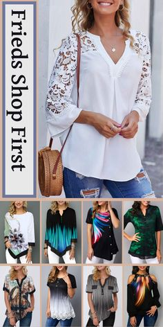 trendy tops for women online on sale Cruise Outfits, Summer Outfits, White Sundress Wedding, Fashion Over Fifty, Trendy Tops For Women, Cute Woman, Cute Shirts, Womens Fashion, Ladies Fashion