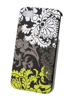"Vera Bradley Snap On Case for iPhone 4/4S in Baroque, $35 | ""Even our phones need to be a little dressed up for the holidays!"""