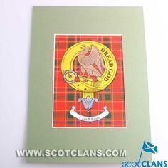 Munro Clan Crest Print