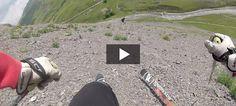 Lyžovanie na skalách – Valloire 2014