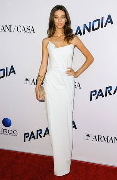 Angela Sarafyan arriving at the premiere of Paranoia in Los Angeles, California - Aug 8, 2013 - Photo: Runway Manhattan/