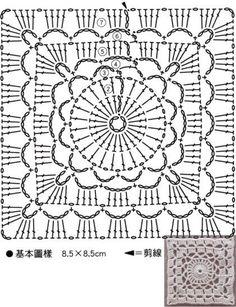 Watch The Video Splendid Crochet a Puff Flower Ideas. Phenomenal Crochet a Puff Flower Ideas. Crochet Square Blanket, Crochet Motifs, Granny Square Crochet Pattern, Crochet Blocks, Crochet Pillow, Crochet Diagram, Crochet Chart, Crochet Squares, Crochet Blanket Patterns